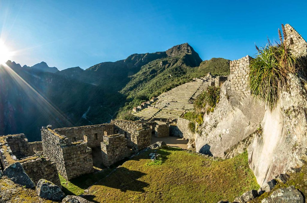 Houses of Factories of Machu Picchu